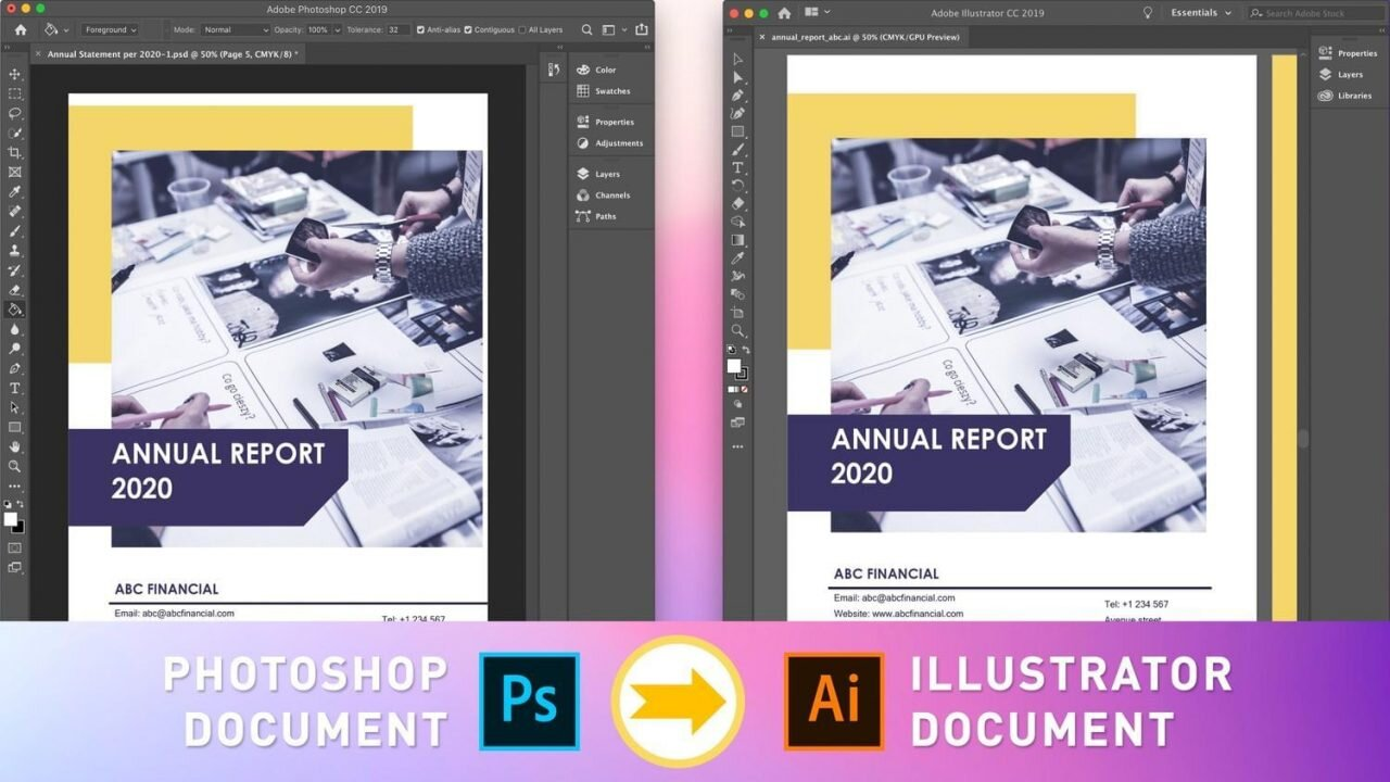 Photoshop do Illustratora