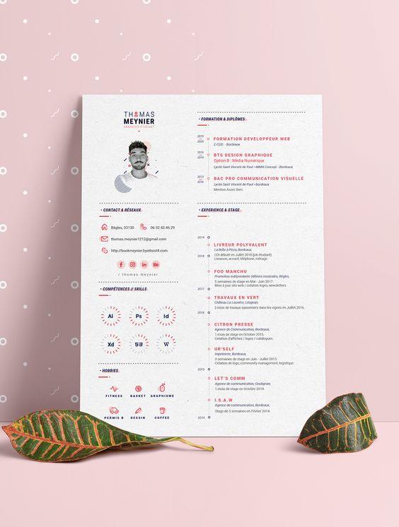 projektowanie wzorów CV