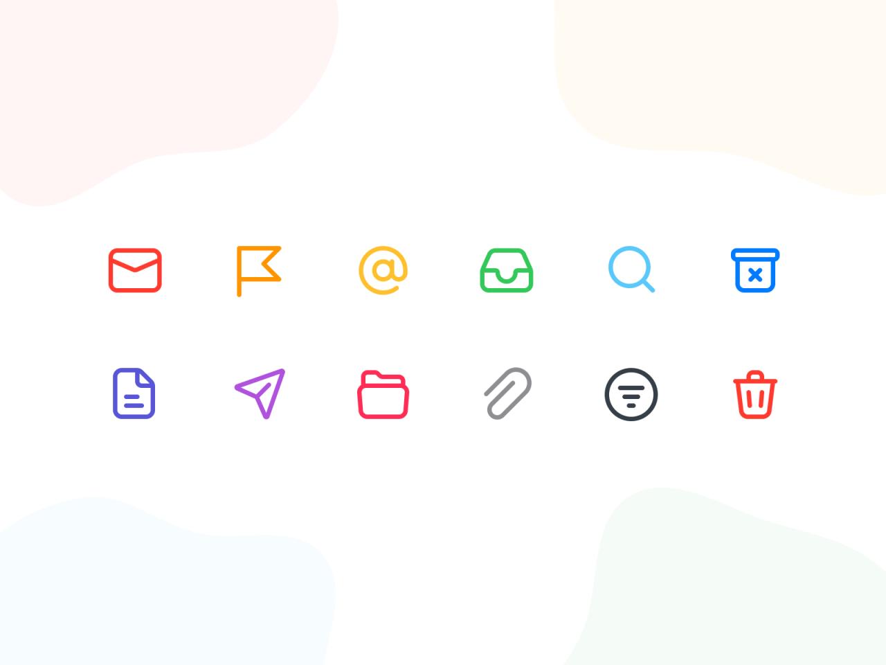 ikony kolorowe
