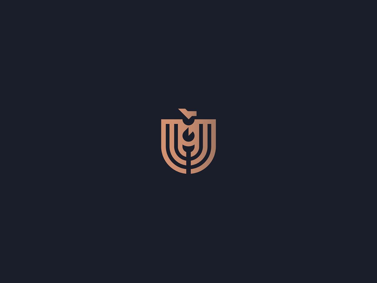 minimalistyczny herb